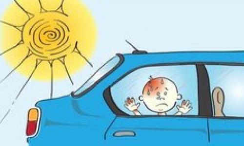 Dạy trẻ kỹ năng tự thoát hiểm khi bị kẹt trên ôtô