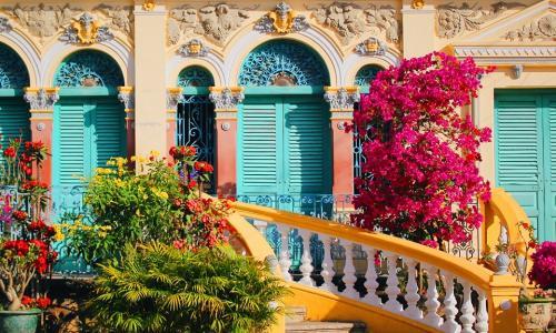 Nhà cổ Bình Thủy, nơi pha trộn ba lối kiến trúc Việt - Pháp - Hoa