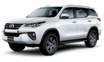 xe Toyota Fortuner cho thue can tho